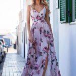 długa sukienka na lato zwiewna sia